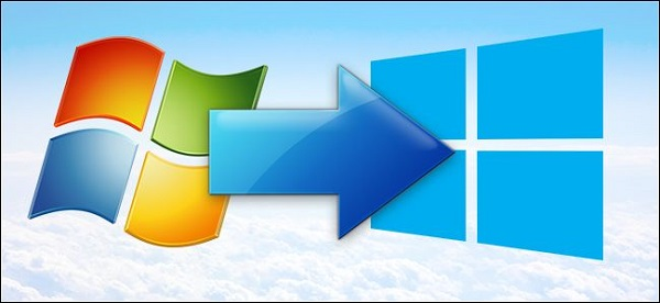 Update từ Windows 7 lên Windows 8