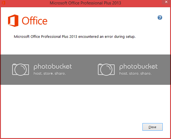 Lỗi microsoft office professional plus 2010 encountered an error during setup.